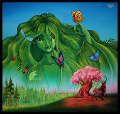 Fantasia 2000 Spring Sprite by David Kawena