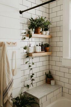 Bohemian Bathroom Inspiration - Lemons, Lavender, & Laundry