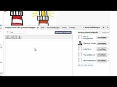 Gruppen in Facebook anlegen und nutzen - YouTube