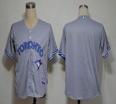 Blue Jays Blank Grey Road Cool Base 2012 Embroidered MLB Jersey! Only $18.50USD