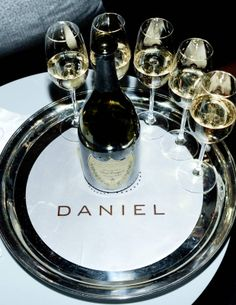 Daniel New York, precious moment with good food, wine and service