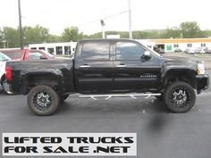 2011 Chevy Silverado 1500 LTZ Lifted Truck