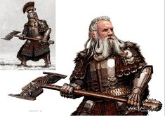View the Mod DB LordDainOfIronHills image Lord Dain Concept Art