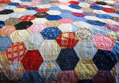 My Grandmother made this quilt several times and they are priceless to me. <3