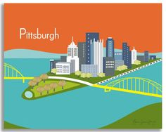 Pittsburgh, Pennsylvania in an array of finishes, materials, and sizes, this…