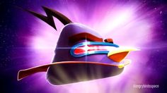 We have all the intergalactic details on the new out-of-this-world birds making their debut in Angry Birds Space. Meet the new Angry Birds Space flock and get all juicy details about their awesome new powers. 4k Wallpaper For Mobile, Bird Wallpaper, Iphone Wallpaper, Angry Birds 2 Game, Banners, Epic App, Space Movies, Purple Bird, Bird Pictures