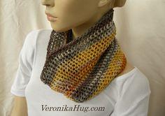 Loop ARESE gehäkelt - Woolly_Hug_BANDY - Veronika Hug