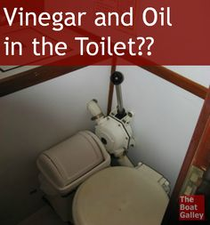 Vinegar and Oil...didn't know about the vinegar