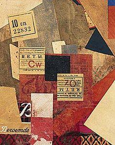 Kurt Schwitters, Merz 163, 1920 Merz 163 1920