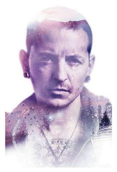 In this picture, Chester's crying because he MISSES EVERYONE!