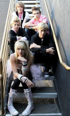 Young R5! Just saying they are a lot cuter in person and rydel is beautifuler (ik that's not a word) in person. Met R5 4/18/13 best day ever!