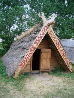 paganroots:by ~VikingStock Viking Tent, Viking Camp, Nordic Vikings, Les Vikings, Viking House, Viking Life, Tiny House, Viking Culture, Norway