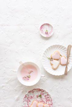 Valentine's Vanilla Cookies #inspiration @donna hay #food styling #food photography | Au Petit Goût