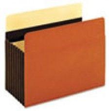 Desk Supplies>Desk Set / Conference Room Set>Holders> Files & Letter holders: Heavy-Duty File Pockets, Letter, Redrope, 5/Box