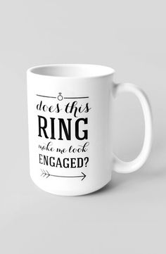 Bridal Shower: This is a perfect gift for any of your engaged friends! via Loverly #mug #gift #bridesmaid