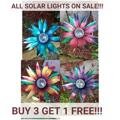 Stop by garedendreamsdecor.com and get these solar lights while they last! Thier going fast! :)