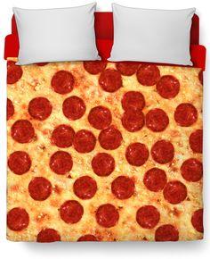 Pizza Duvet Cover