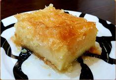 Θεσπέσιο Γαλακτομπούρεκο Greek Sweets, Spanakopita, Cheese, Ethnic Recipes, Food, Food And Drinks, Essen, Meals, Yemek