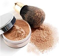 Translucent Face Powder 1/2 Tbl Cornstarch, 1 Tsp Baby Powder (talc), 1/8 Tsp Powder Foundation