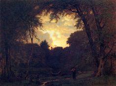 Evening George Inness (1865)