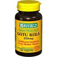 Gotu Kola 250mg - 100 tabs,(Good'n Natural) by Good n Natural. $2.77. Good N Natural - Gotu-Kola 250 mg - 100 Tablet. Gotu kola ( Centella asiatica ) has been used as a medicinal herb for thousands of years in India, China, and Indonesia. Its ability to heal wounds,