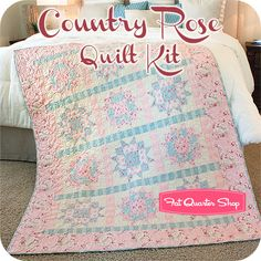 just caught my eye, the beauty and thee simplicity of this quilt, might be my next quilt ;)