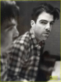 Zachary Quinto: Hipstamatic for 'Snap' Magazine!