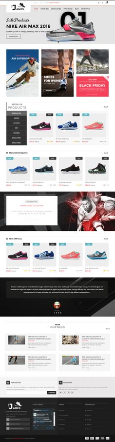 James – Opencart Shoes Store