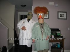 Nailed it? Or total Pin Fail: Bunsen &  Beaker, you decide.