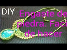 #2 COLLAR CON CENTRO SIN RANURA ✿NECKLACE WITH CENTER WITHOUT SLOT ✿COLAR COM CENTRO SEM SLOT - YouTube