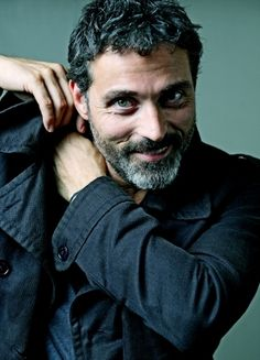Long ago, Rufus Sewell was handsome in a quirky way. But now... Dang.