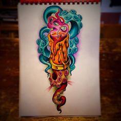 """685 Likes, 4 Comments -  Andrea Lanzi (@antikorpo) on Instagram: """"Ready to go..! @daigor_perego #realitional #tattoo #color #antikorpo #andrealanzi #art #surealism…"""""""