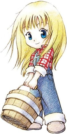 harvest moon witch princess - Google Search