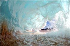 White tumultuous water (Wave)