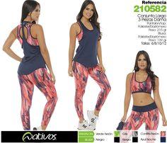 Ropa deportiva para dama, somos exportadores! www.nativos.com.co