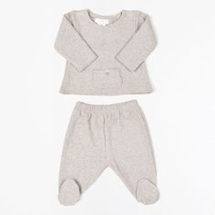 NEW BORN BEIGE TOWELLING BABY SET | ZARA HOME Norge / Norway