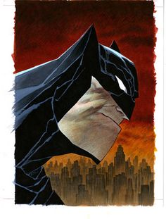 DARK KNIGHT III MASTER RACE #1 (OF 8) Exclusive Cover by Bruce Timm