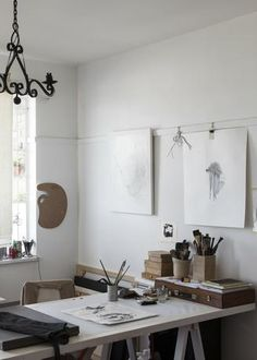 one day- a studio of my own. interiors | DAVID ROSS | workspace and wire