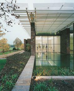 Fondation Beyeler - Renzo Piano  View of the Giacometti Room  Foto: Niggi Bräuning
