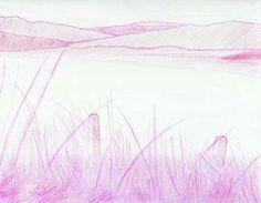 "Saatchi Art Artist Robert Lee; Drawing, ""Seascape by Robert S. Lee (Sketchbook p. 169)"" #Robert #S. #Lee #drawing #art #artist #color #colour #Greece #Greek #Apostle #Paul #lake Entire Book on Paperback https://www.amazon.com/dp/B015Z10SPA or Kindle Edition 1 https://www.amazon.com/dp/B015100PH6 or Kindle Edition 2 https://www.amazon.com/dp/B01518XVG0 Black & White Edition https://www.amazon.com/dp/B015Z3KSEO"