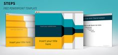 Steps - PowerPoint Template