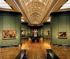 The National Gallery, #London.  Address: Trafalgar Square, London WC2N 5DN. #ArtGallery Get there by hopping-off at the gallery's dedicated stop on the Original London Sightseeing Bus Tour: https://www.cityxplora.com/products/original-london-sightseeing-tour