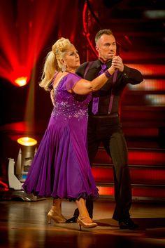 Vanessa Feltz and James Jordan - Strictly Come Dancing 2013 - Week 3