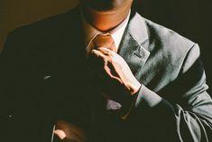 Tie Necktie Adjust Adjusting Man Business