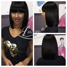 Egyptian bob hair styles