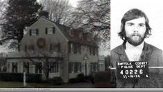 Amityville horror. Ronald Defeo (pictured) killed his parents and siblings with a shot gun in the middle of the night and no one (neighbors) heard the shots.
