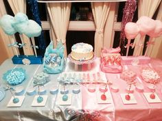 Boy vs. Girl Gender Reveal Party Ideas | Photo 3 of 10 | Catch My Party