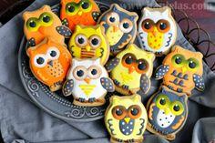 Haniela's: Owl Cookies for Halloween