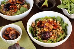 """Balsamic Honey Grilled Fig Quinoa Bowl"" - From ""Produce Made Simple"""