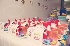 """""""UP"""" Theme Birthday Party awesome thank you gifts but not sure if its expensive to get the boxes!"""